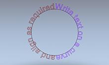 3D模式下編輯文字